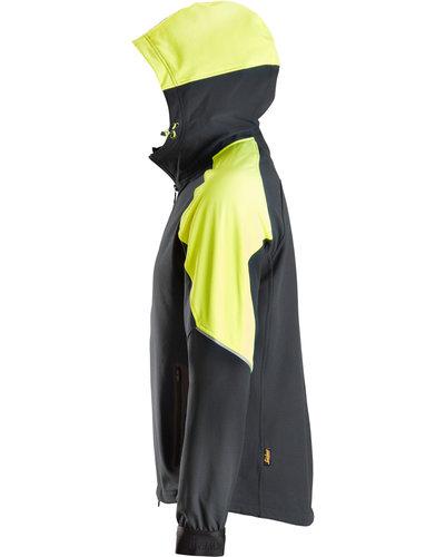 Snickers Workwear FlexiWork Neon Hoodie met Rits