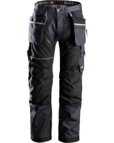 Snickers Workwear 6204 RuffWork Denim  Werkbroek met holsterzakken