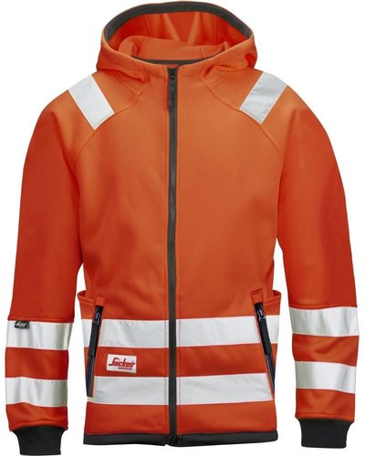 Snickers Workwear 8043 Hi Vis Micro Fleece Jas