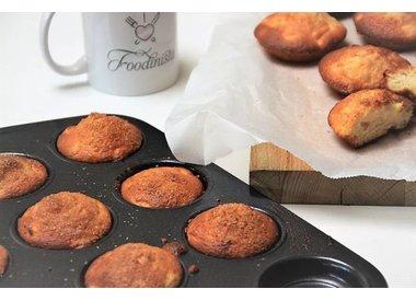 Foodinista.nl: Appeltaartmuffin Recept