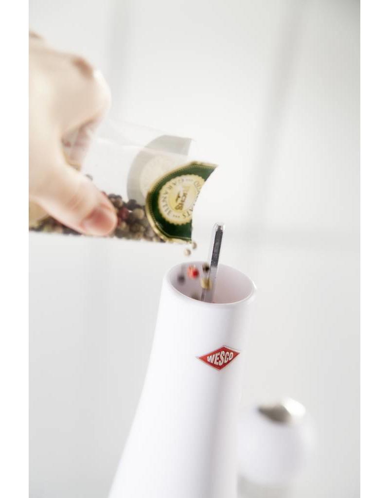 Wesco Peppy Mill Peper/Zoutmolen Wit