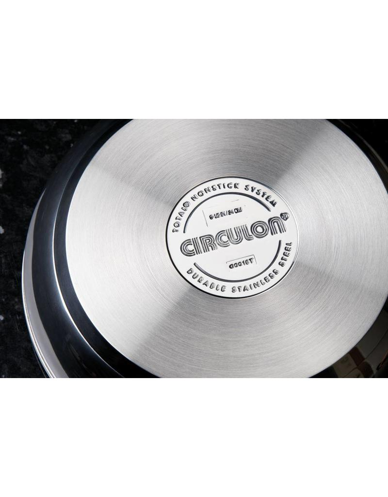 Circulon Ultimum Koekenpan 28 cm High Performance Stainless Steel