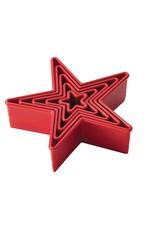 Cake Boss™ 5-delige Snijvormenset 'Sterren'