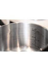 Prestige 4 delig RVS pannenset 16 cm, 18 cm, 20 cm en 24 cm.