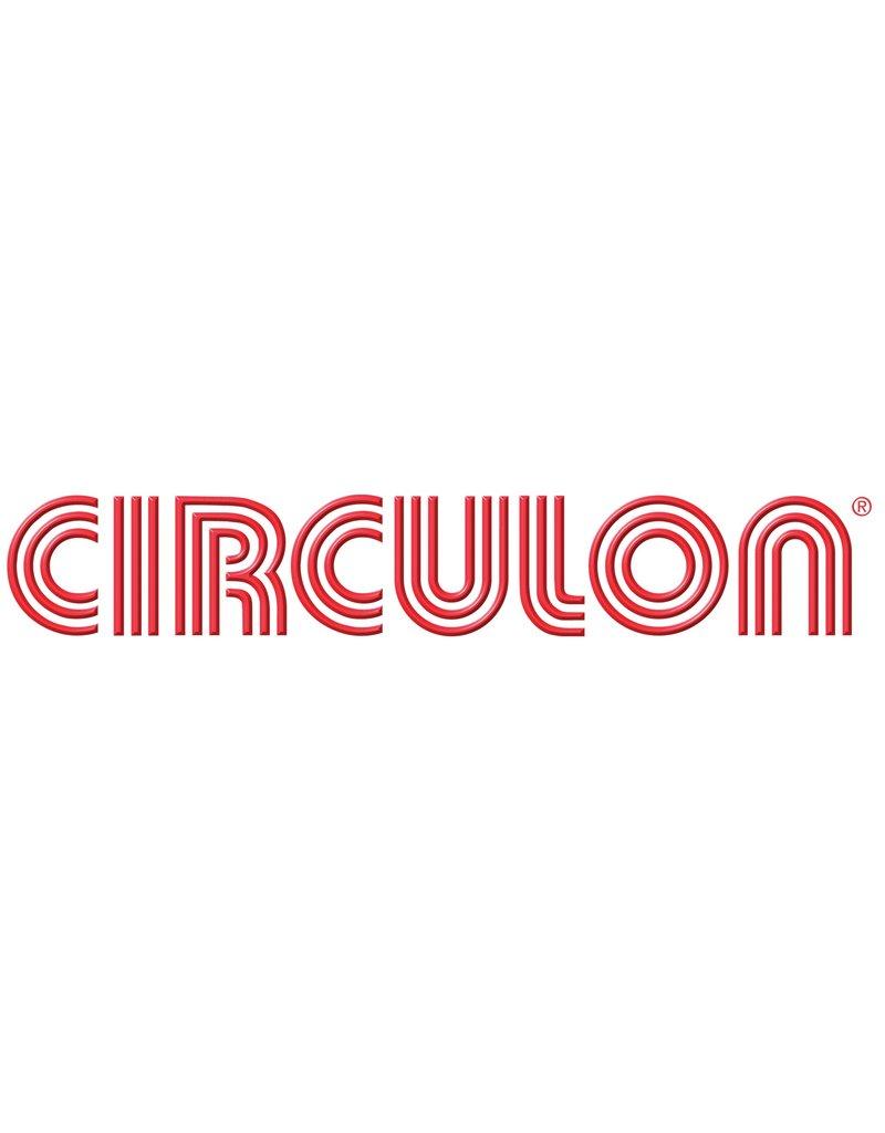Circulon Handwok non-stick 28 cm zwart  met glazen deksel