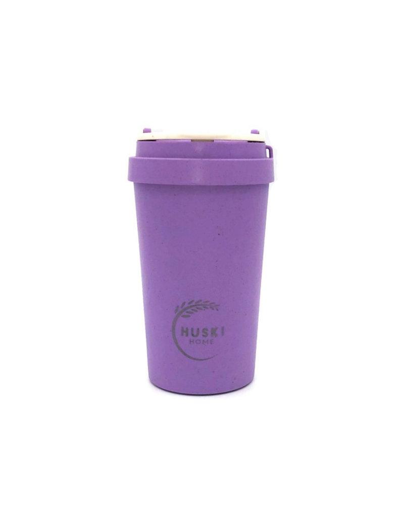 Huski Home Rice Husk eco beker 500 ml Violet