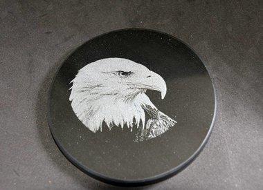 Fotogravur auf Marmor