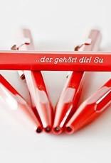 849 CLASSIC LINE rot Kugelschreiber oder Minenhalter inkl. Gravur und Karton-Geschenkverpackung