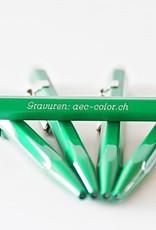 Caran d'Ache Kugelschreiber mit Gravur 849  Classic Line grün