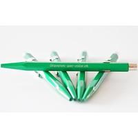 Classic-Line Kugelschreiber grün mit Gravur