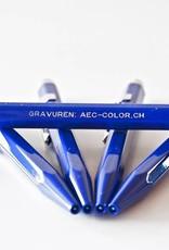 Kugelschreiber oder Minenbleistift 849  Classic Line saphirblau inkl. Gravur  und Verpackung