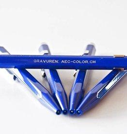 Kugelschreiber oder Minenbleistift saphirblau inkl. Gravur