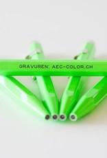 Kugelschreiber mit Gravur Fluo-Line 849 grün mit Gravur