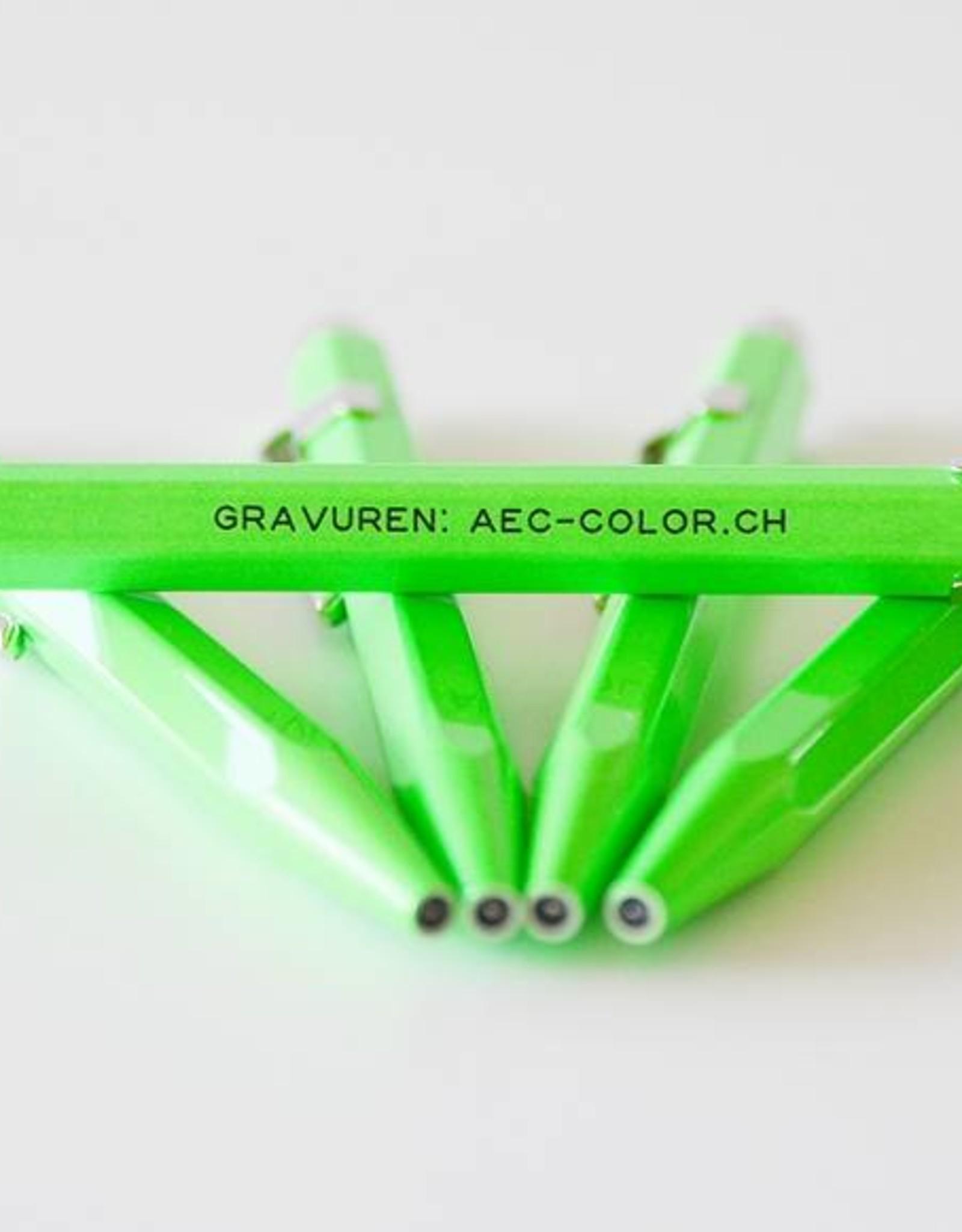 Fluo-Line  849  grün mit Gravur