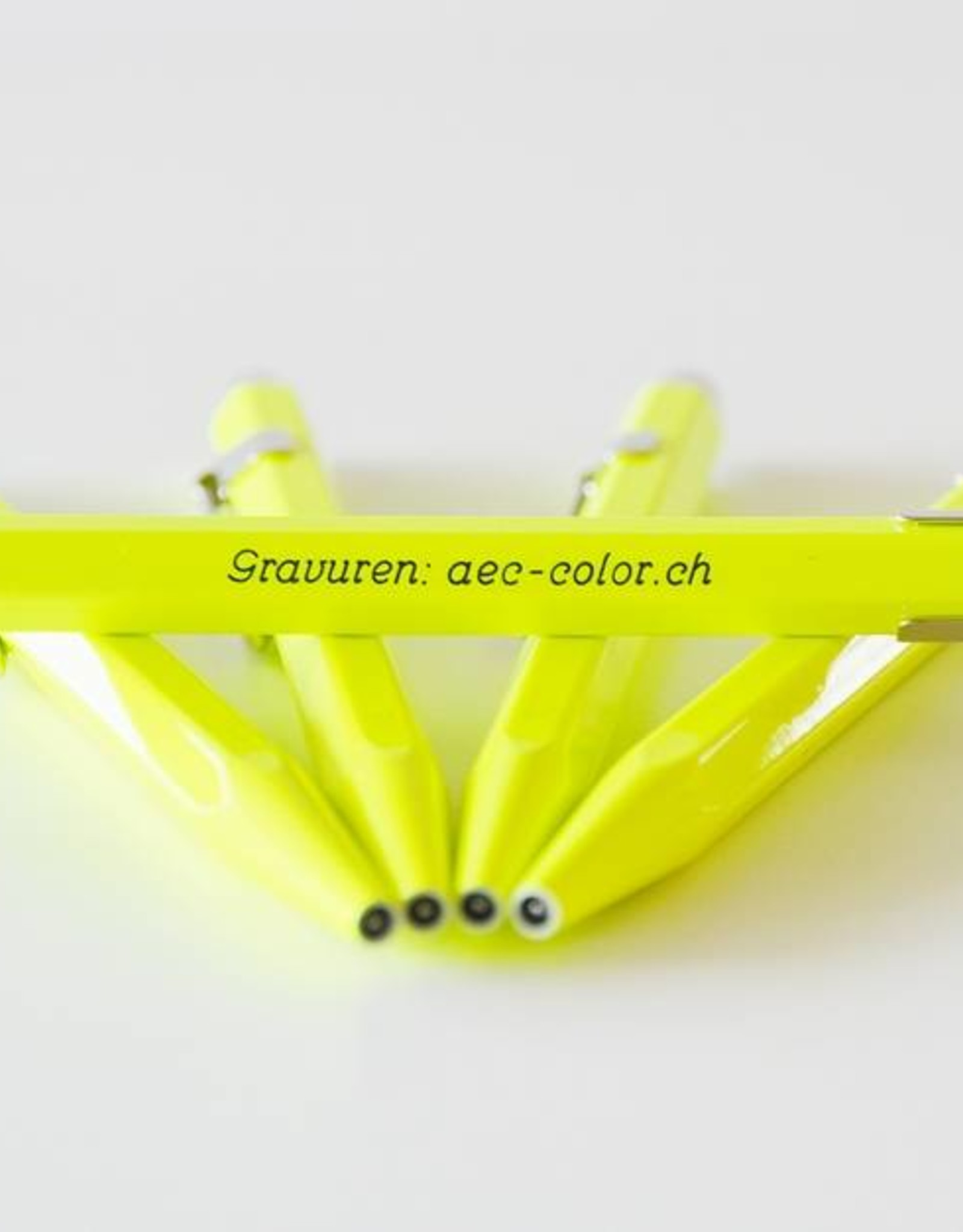 Kugelschreiber mit Gravur Fluo-Line 849 gelb mit Gravur