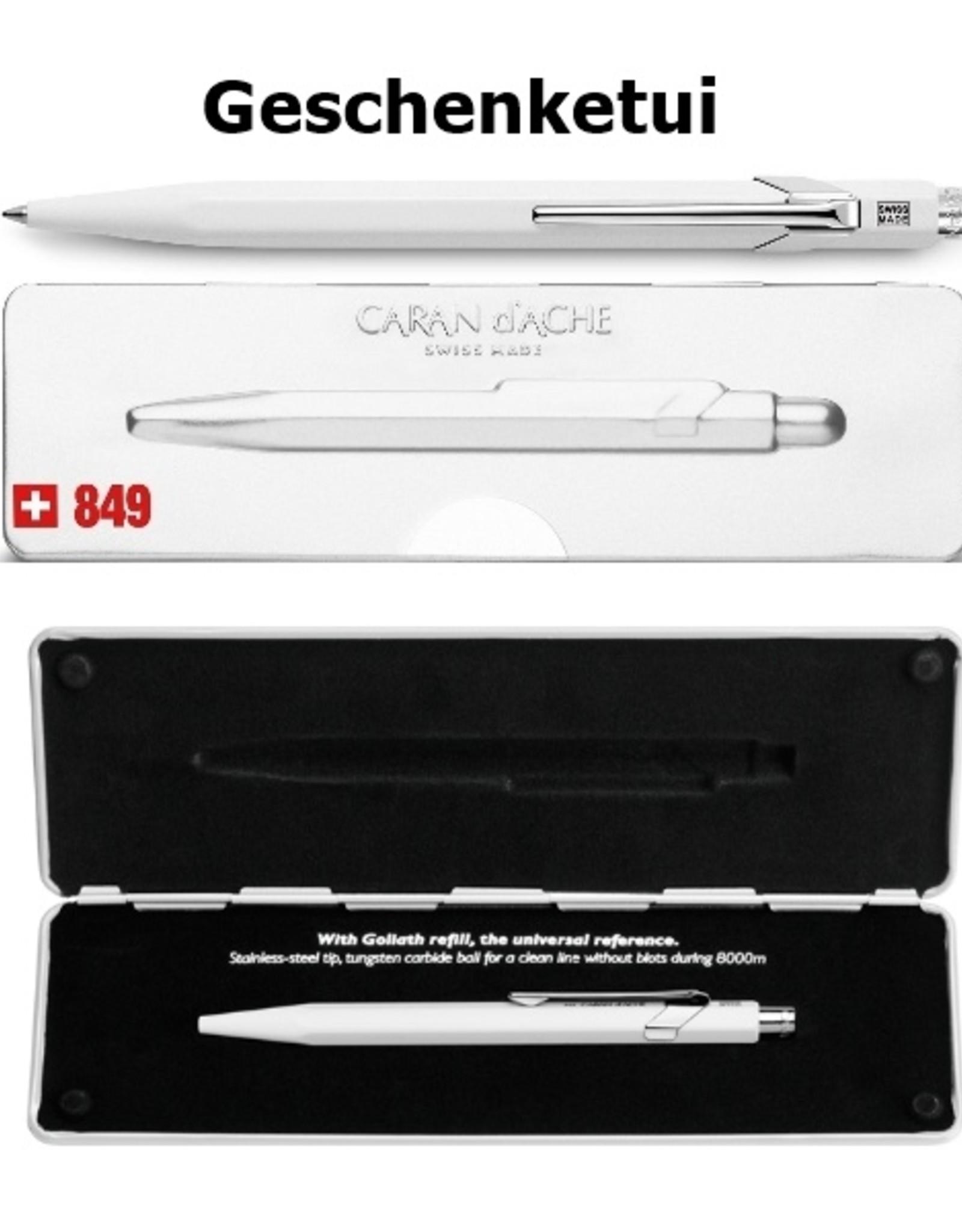 849 CLASSIC LINE saphirblau Kugelschreiber oder Minenhalter inkl. Gravur und Karton-Geschenkverpackung