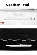 Caran d'Ache Kugelschreiber oder Minenbleistift Classic Line grau inkl. Gravur  und Verpackung