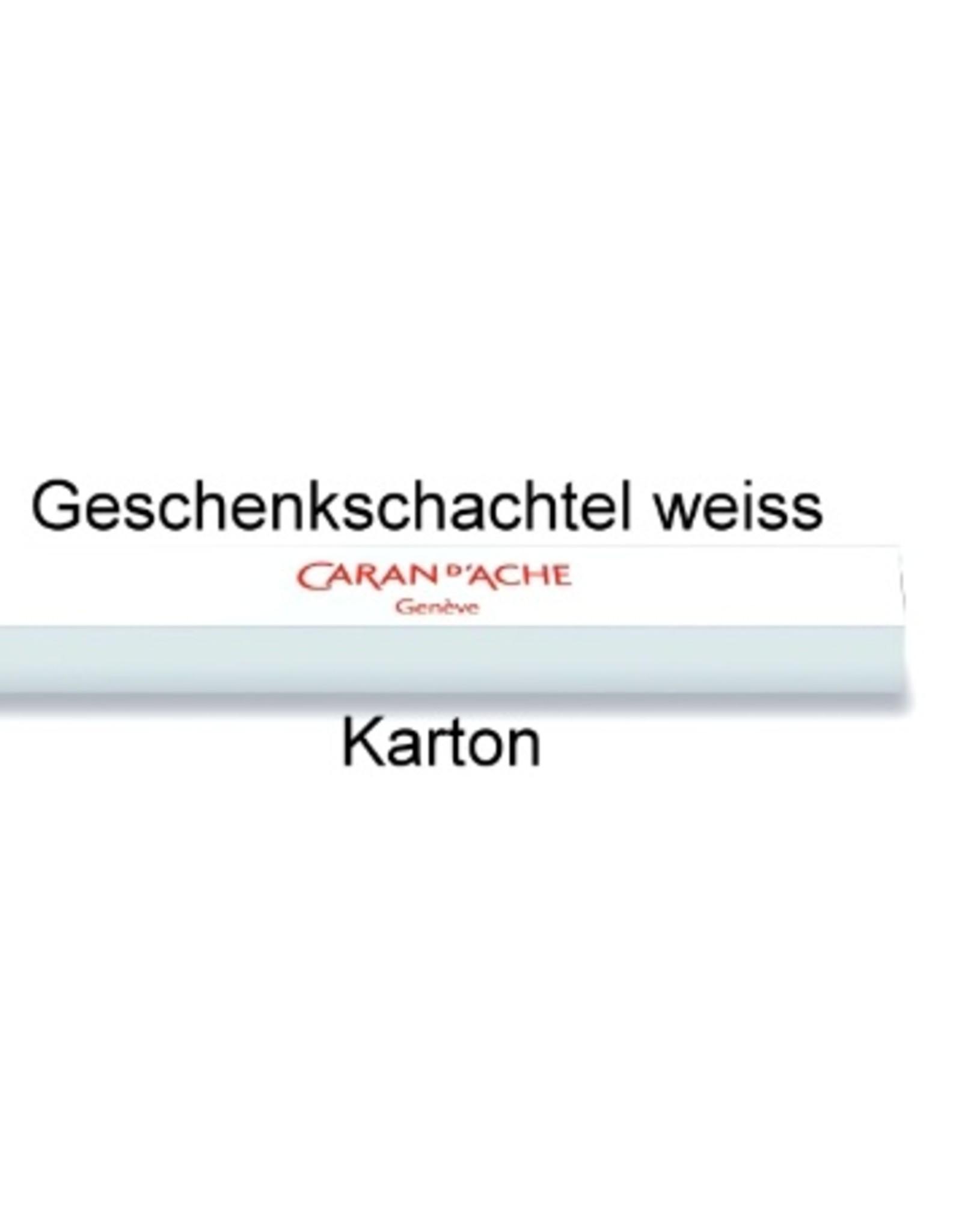 Caran d'Ache Kugelschreiber oder Minenbleistift mit Gravur 849  Classic Line saphirblau