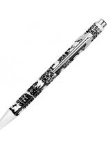 Kollektion Kugelschreiber Scherenschnitt inkl. Gravur auf Etui