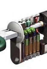 S2skg**F6 3 gelijksluitende cilinders  75 mm 30/30 hs met 9 veilige keersleutels