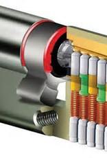 S2skg**F6  3 gelijk sluitende cilinders  1 knopcilinder 2 gwone cilinder  6 keersleutels