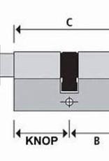 S2skg**F6  Veiligwonenset 2 Knopcilinders en 2 normale cilinders s2skg**f6 8 keersleutels