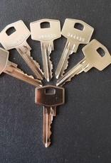 S2skg**s6 2 gelijksluitende cilinders 60 mm 30/30 S2SKG**S6 met 6 sleutels Politie Keurmerk Veilig Wonen