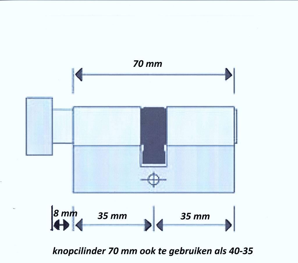 S2skg**s6 4 knopcilinders + 1 normale cilinder 8 nummer sleutels  - Copy - Copy