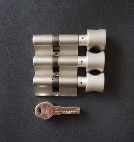 S2skg**F6 3 gelijke knopcilinders