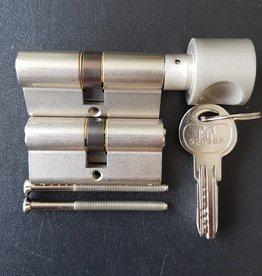 S2skg**F6 Knopcilinder + 1 gewone cilinder 6 keersleutels