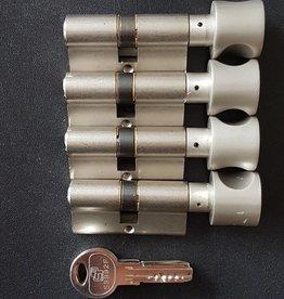 S2skg**F6 4 gelijke knop cilinders 8 keersleutels