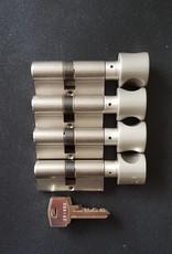 S2skg**s6 4 gelijk sluitende knopcilinders  6 sleutels