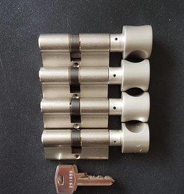 S2skg**s6 4 gelijke knopcilinders 60 mm 30/30 8 sleutels