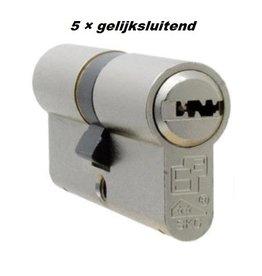 S2skg**F6 5 gelijke cilinders 60 mm 30/30