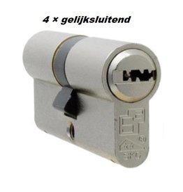 S2skg**F6 4 gelijke cilinders 60 mm 30/30
