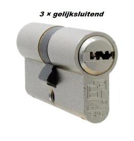 S2skg**F6 3 gelijke cilinders 60 mm 30/30