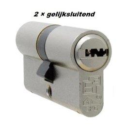 S2skg**F6 2 gelijke cilinder 60 mm 30/30