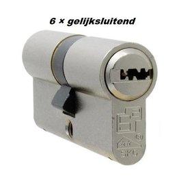 S2skg**F6 6 gelijke cilinders 60 mm 30/30