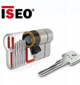ISEO F6 Extra S SKG*** 5 Antikerntrek cilinders 60 mm 30/30