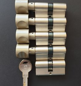 S2skg**F6 4 knop +1 nomale cilinder 8 keersleutels