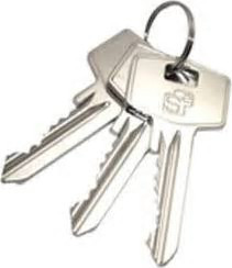 S2skg**s6 S2 Veiligheidscilinder  95 mm 40/55 3 sleutels Politie Keurmerk Veilig Wonen