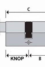 S2skg**s6 Knopcilinder  100 mm knop30-70