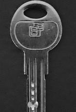 S2skg**F6 Knopcilinder s2skg**f6 85 mm knop50-35 3 keersleutels
