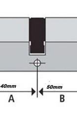 ISEO F6 Extra S SKG*** Cilinder 90 mm 40/50 wil u de cilinder gelijk sluitend maken  of voorzien van knop ?