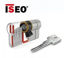 ISEO F6 Extra S SKG*** Cilinder 100 mm 50-50 wil u de cilinder gelijk sluitend hebben of voorzien van knop ?