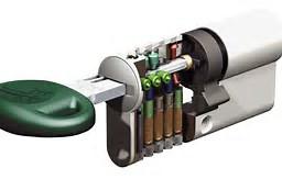 S2skg**F6 Knopcilinder s2skg**f6 80 mm 35/45 3 veilige keersleutels