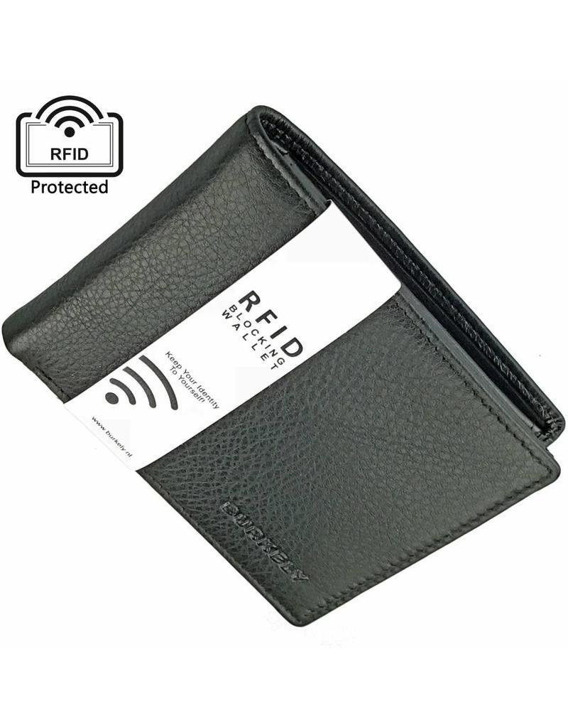 Burkely Herren Geldbörse Flach RFID