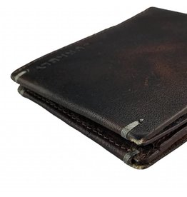 caf4b851f40 Burkely Heren Portemonnee Vintage Plat Bruin