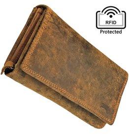 Damen RFID Geldbörse Mit Vielen Kreditkartenfächern