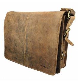 Greenburry Dames Heren A4 Schoudertas Messenger Bag
